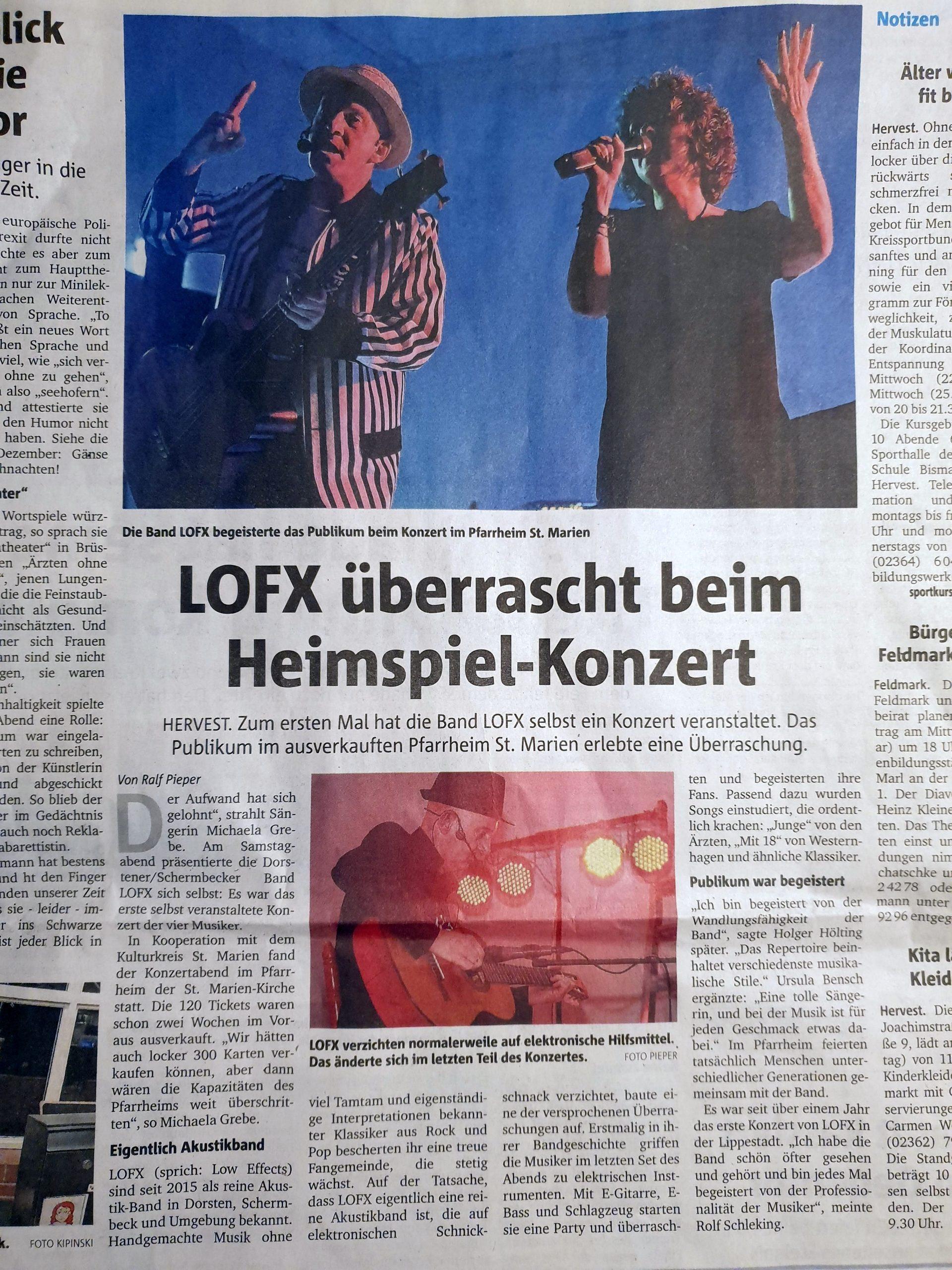 Dorstener Zeitung, 20.01.2020