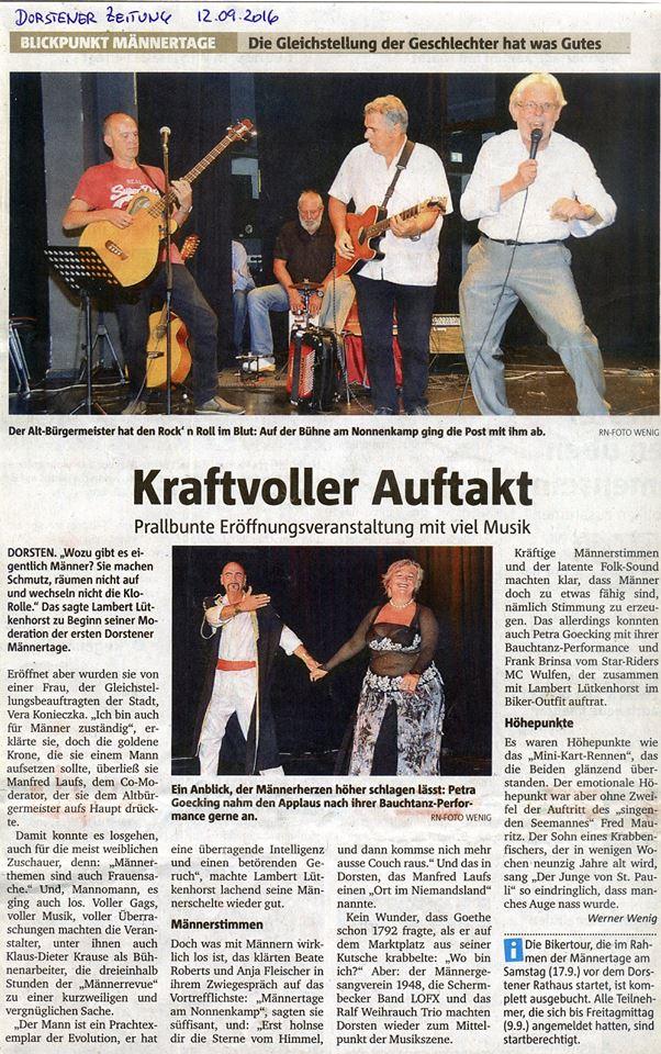 Dorstener Zeitung 14.9.16